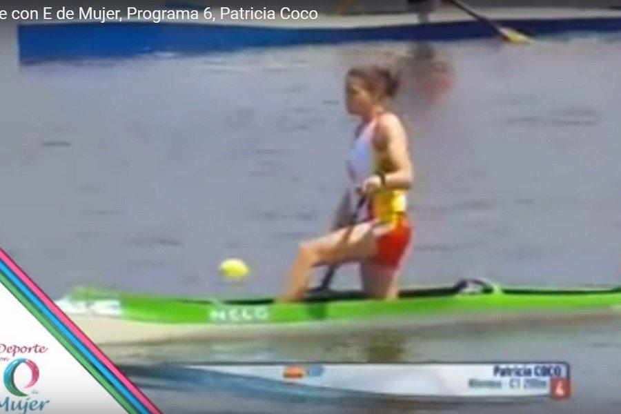 Deporte con E de Mujer. Programa 6. Patricia Coco. Piragüista.