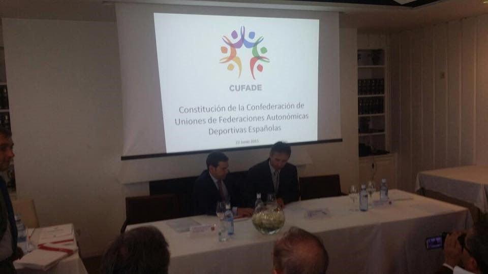 CUFADE, nace la Confederación de Uniones de Federaciones Autonómicas Deportivas