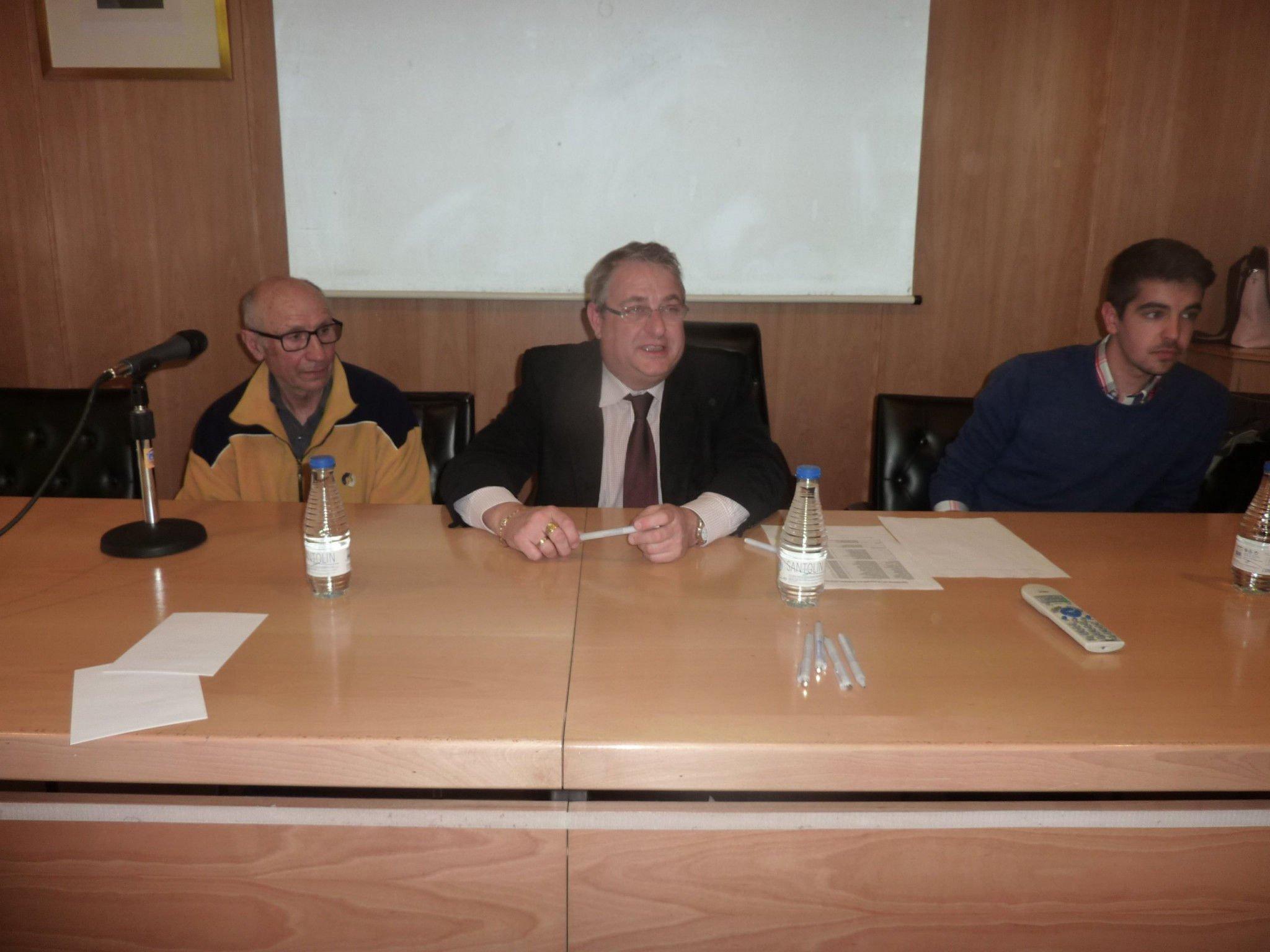 Reelección de D. Gerardo García Alaguero como presidente de la Federación de Atletismo de Castilla y León