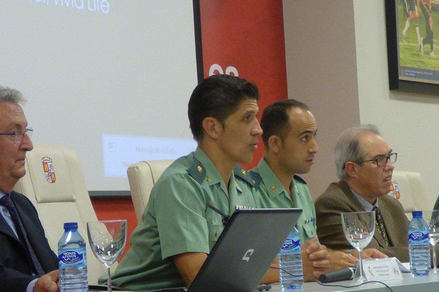 La Guardia Civil y la Federación de Castilla y León de Fútbol se vuelcan en la prevención y control de la violencia