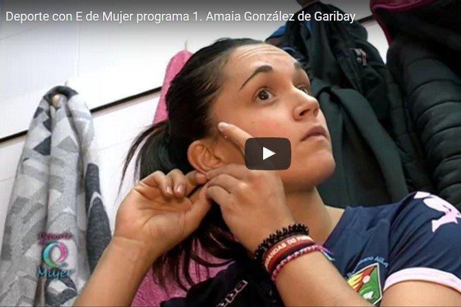 Amaia González de Garibay, una guerrera en el Aula Cultural