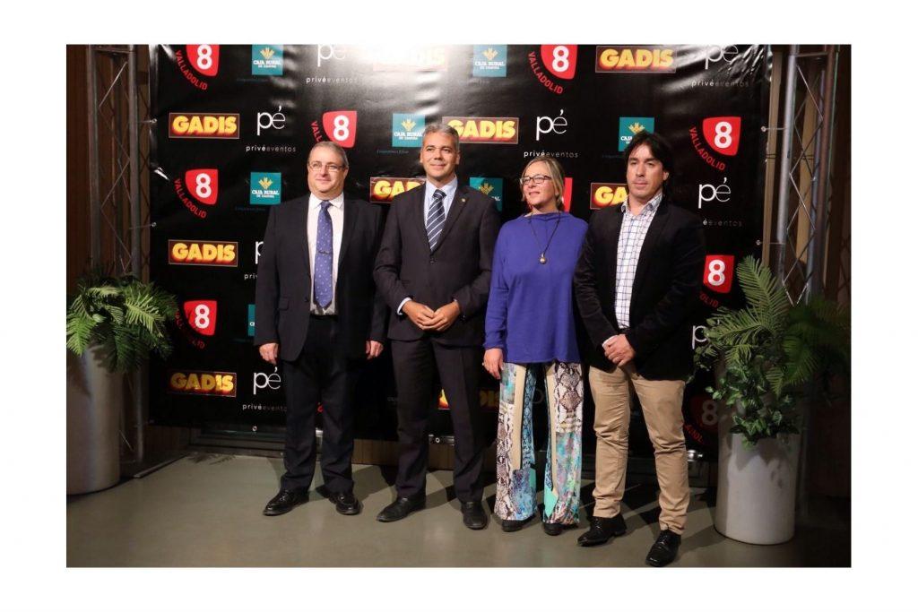 """Afedecyl presenta """"Deporte, con E de Mujer"""" en la Gala de Programación de la nueva temporada de La 8 de Valladolid"""