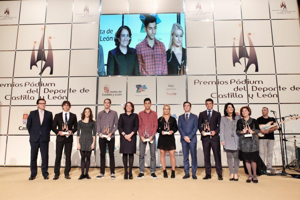 La Junta reconoce a deportistas destacados de 2015 en los Premios Pódium del Deporte