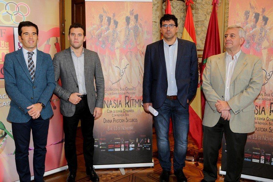 Valladolid será sede del Campeonato de Europa de Gimnasia Rítmica a finales de mayo de 2018