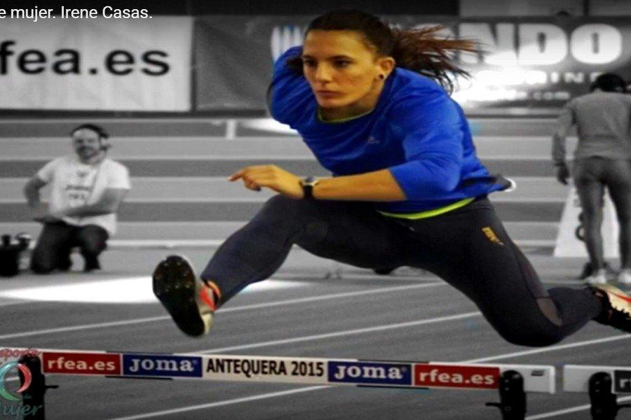 Deporte con E de Mujer. Programa 7. Irene Casas. Atletismo.