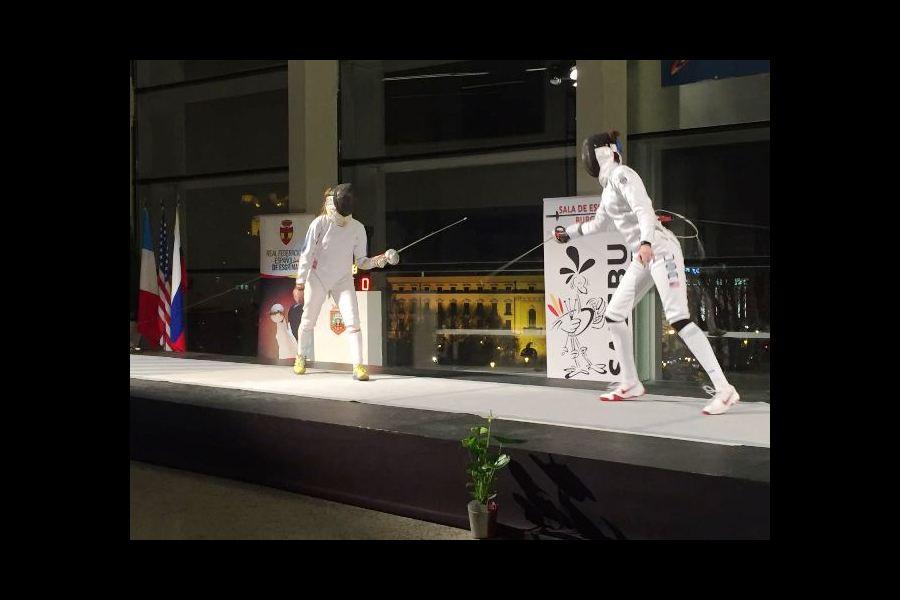 Burgos ha acogido la XIX Copa del Mundo de Esgrima de Espada Femenina