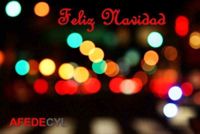 Afedecyl os desea Feliz Navidad