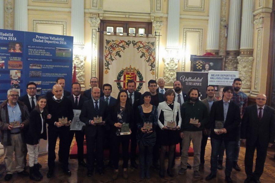 Una año más se reconoce los éxitos del deporte femenino en los Premios Valladolid Ciudad Deportiva 2016