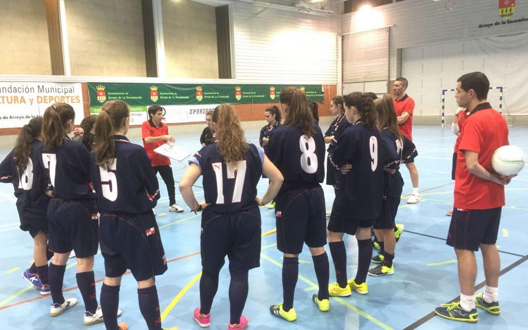 La Selección de Castilla y León de fútbol sala femenino viajará a Barcelona para participar en el Campeonato de España