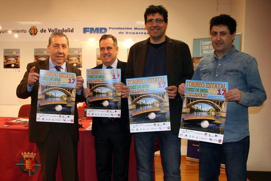 Valladolid, un año más capital del tenis de mesa