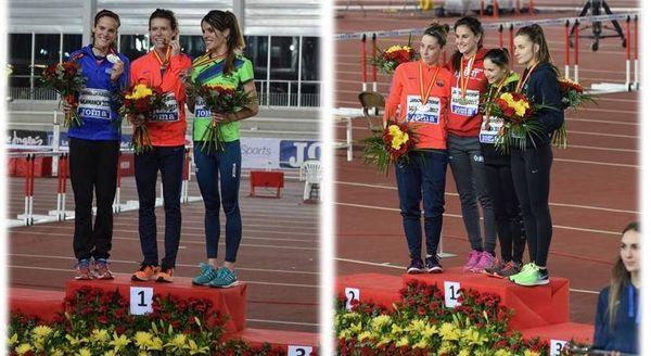 Castilla y León consigue la plata en el medallero del Campeonato de España absoluto en pista cubierta