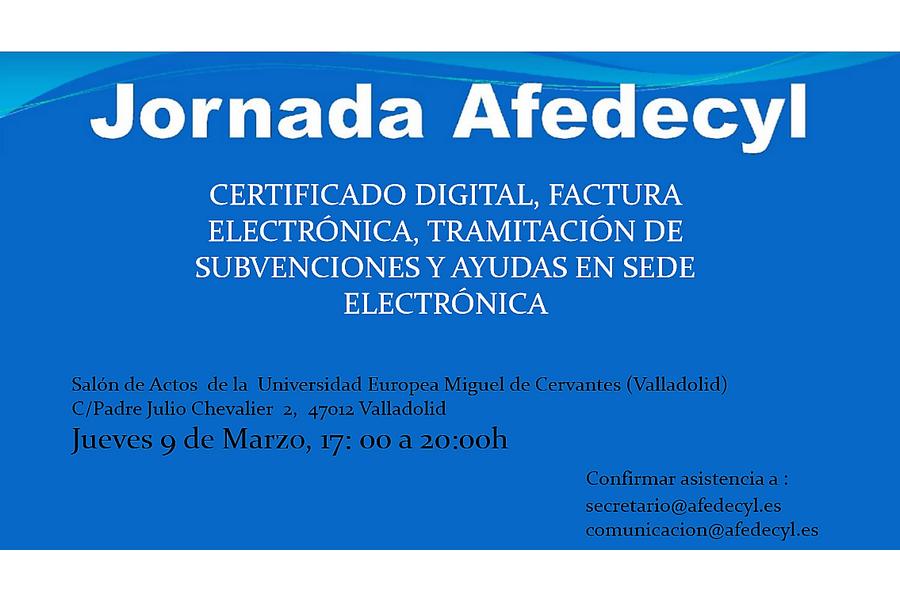 Afedecyl organiza una jornada para ayudar a los socios con las tramitaciones en sede electrónica