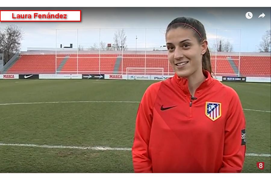 Con E de Mujer. Laura Fernández. Fútbol
