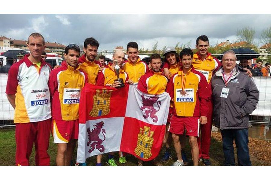 La selección masculina de Castilla y León, campeona absoluta de España de Campo a Través