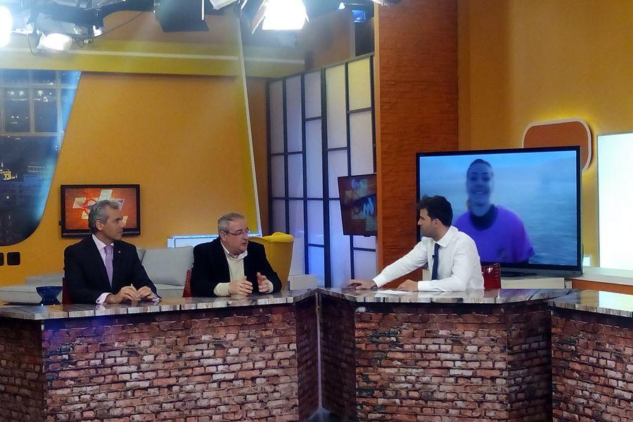 Gerardo García y Daniel Bravo invitados en el Magazine de 'La 8TV' para hablar de los retos de Afedecyl y del deporte femenino