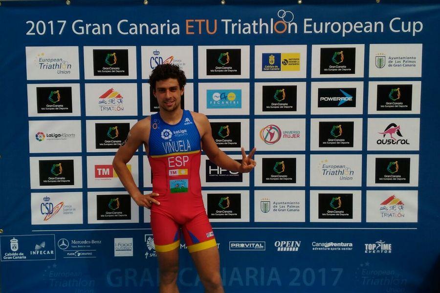 El triatleta leonés Viñuela apunta al Campeonato de Europa