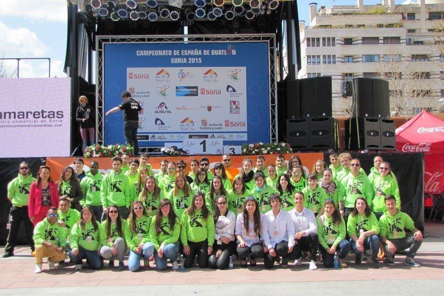 Ya está abierto el plazo de inscripción de voluntarios para el Europeo de Duatlón de Soria