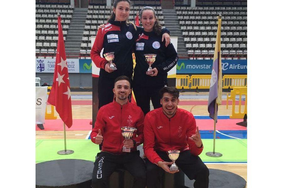 Castilla y León consigue cuatro podios en el Campeonato de España Sub 23 de Espada