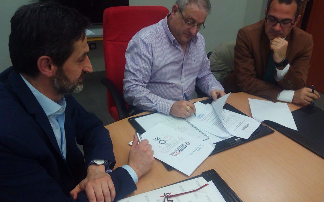 AFEDECyL firma un convenio con Sportlex, que se encargará de asesorar jurídicamente a los socios