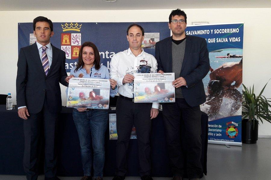 211 socorristas de Castilla y León participarán en la final de la I Copa de España de Salvamento y Socorrismo