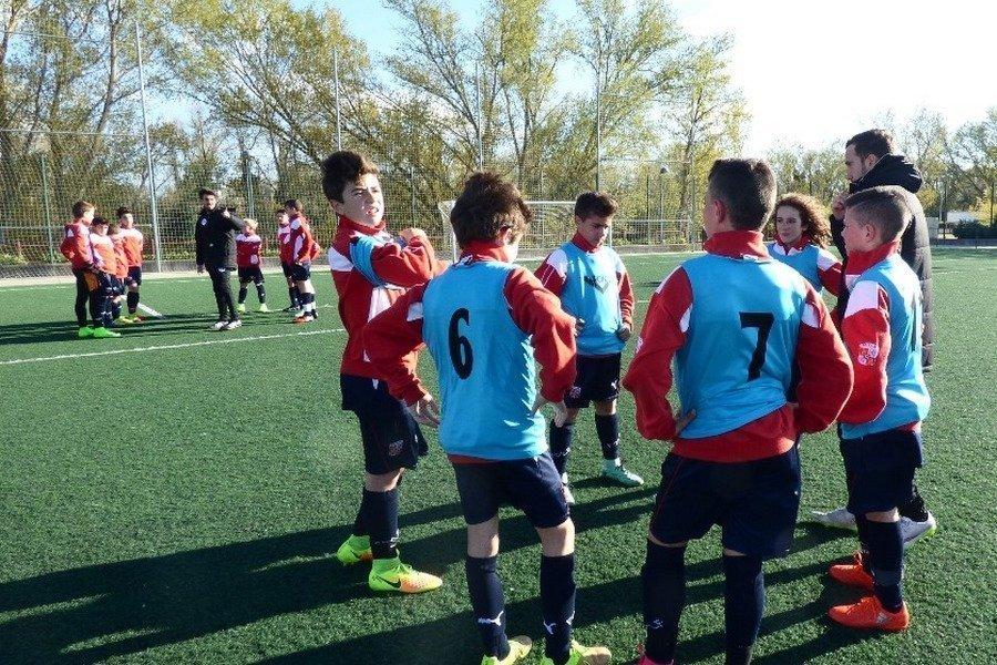 Los alevines de fútbol preparan el campeonato de España en Palencia