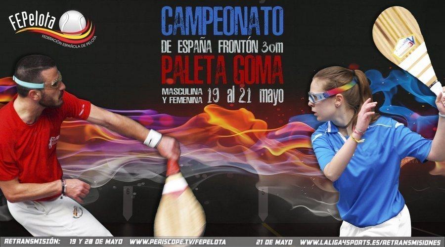 Palencia, Valladolid y Segovia acogen tres campeonatos de España de Pelota durante el fin de semana