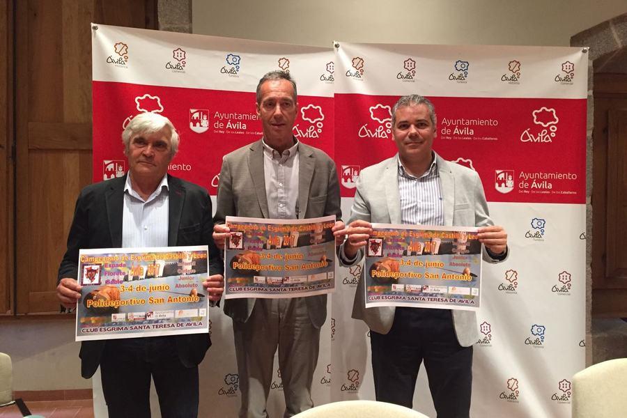 Ávila acoge el campeonato de Castilla y León de Esgrima los días 3 y 4 de junio