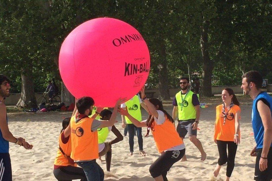 Valladolid acoge el XI Campeonato de España de Kin Ball