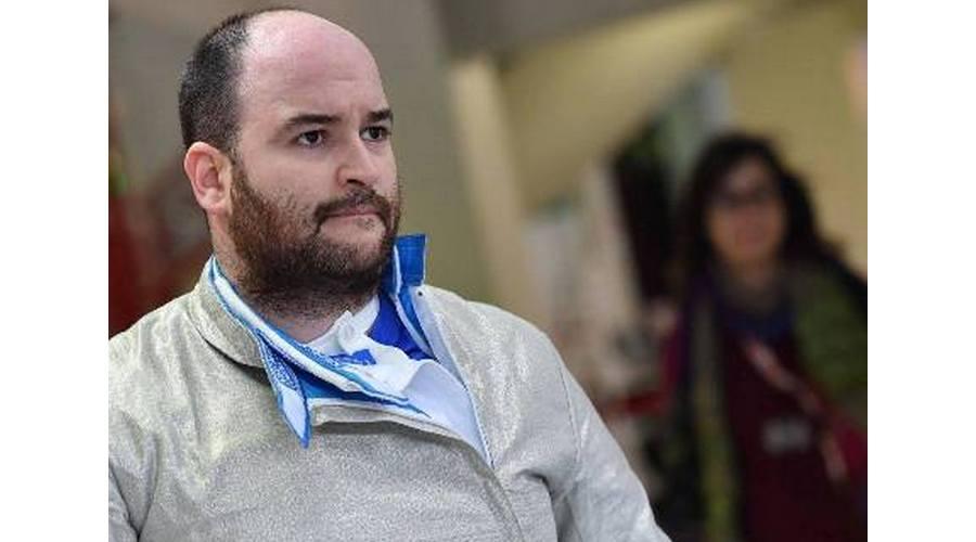 El vallisoletano Fernando Casares participa en la Copa del Mundo de Sable, en Madrid
