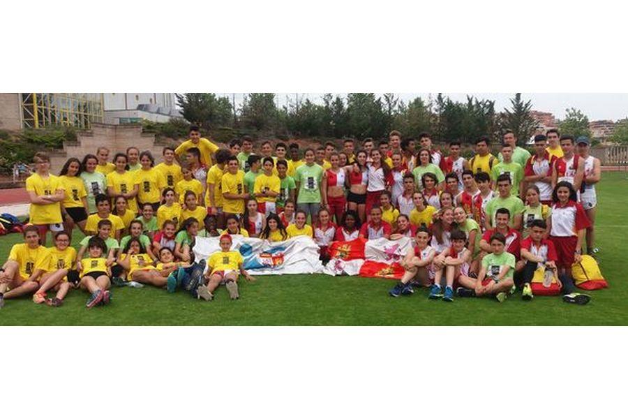 El atletismo de Castilla y León hace triplete en Soria