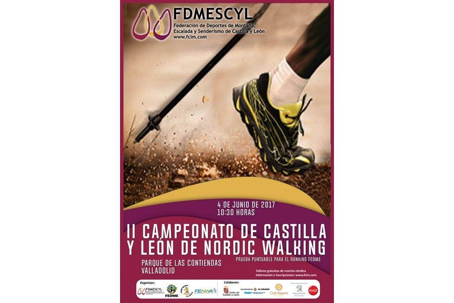 Valladolid acoge una de las seis pruebas puntuables para el Nacional de Nordic Walking