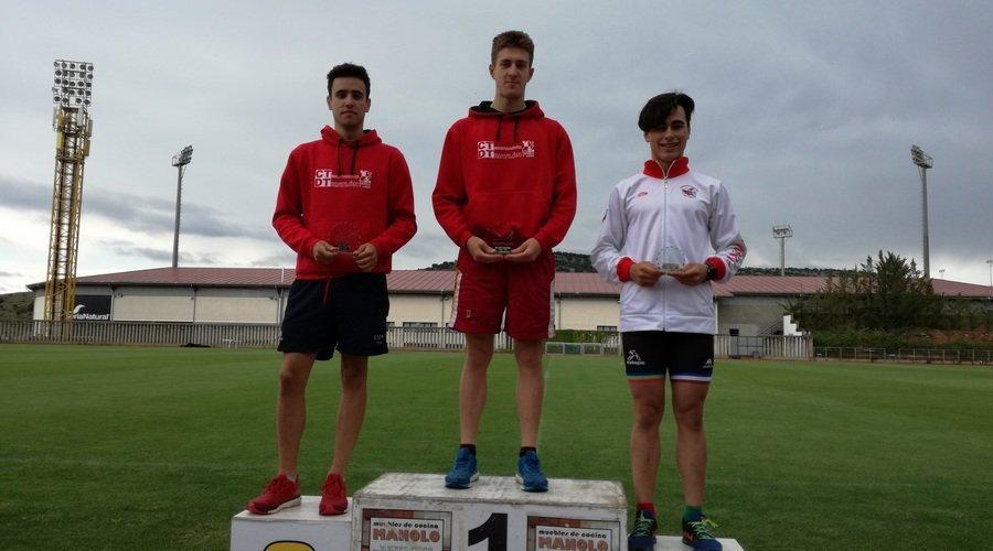 Castilla y León suma tres oros en el Nacional de biatlón
