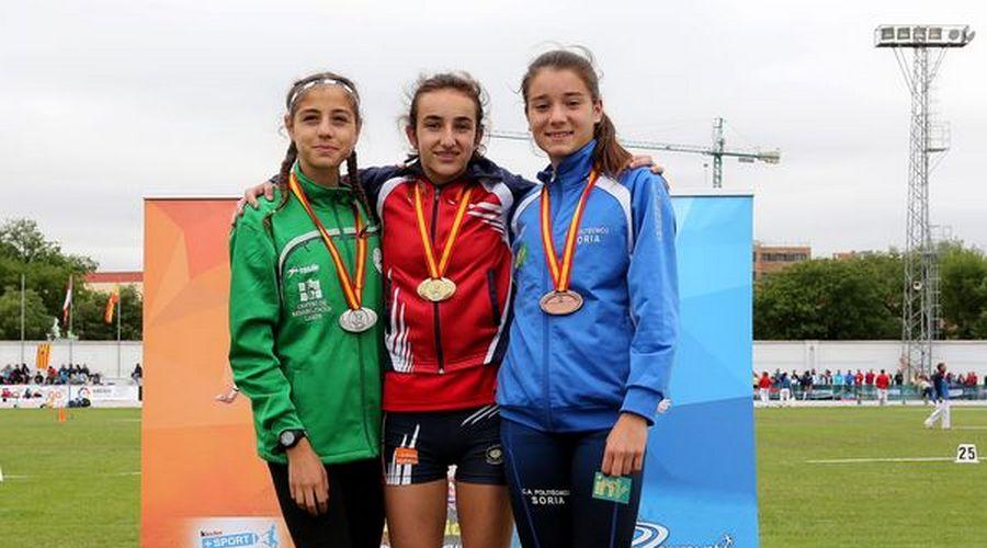 La vallisoletana Lucía Blazquez se proclama campeona de España Infantil en Río esgueva