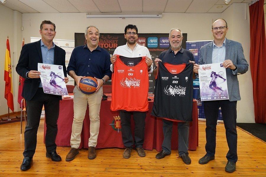 El 3×3 Street Basket Tour llega a Valladolid el próximo 1 de julio