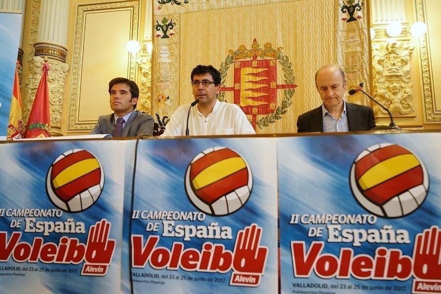 Cuatrocientos jugadores participan en el II Campeonato de España de Voleibol Alevín