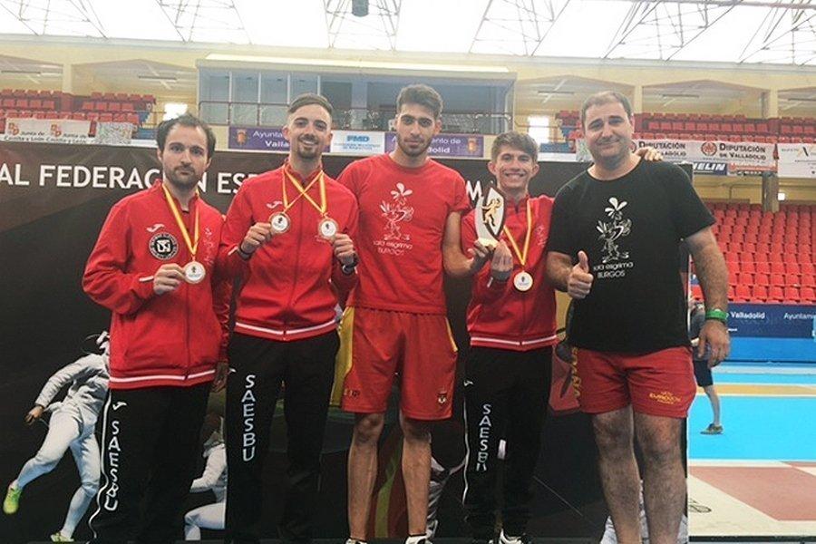 Brillante actuación de Castilla y León en el campeonato de España de Esgrima