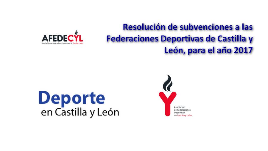 La Junta concede ayudas para fomentar el deporte federado en Castilla y León en 2017 por un total de 2,6 millones de euros