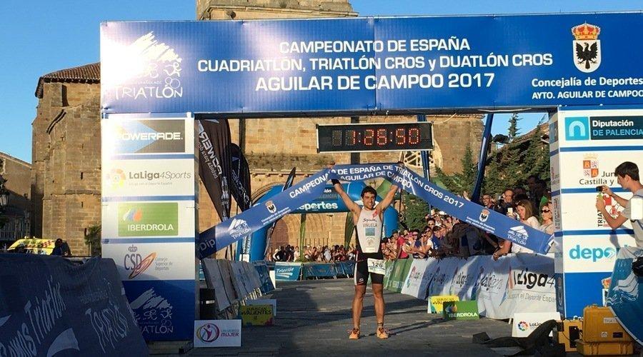 El leonés Viñuela convocado para el Campeonato de Europa de Triatlón sub23