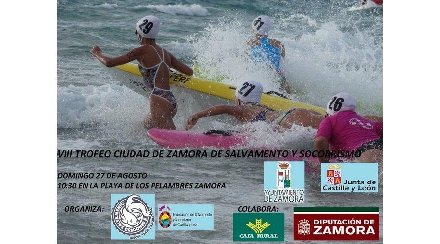 Más de 60 deportistas participarán en el VIII Trofeo Ciudad de Zamora de Salvamento y Socorrismo