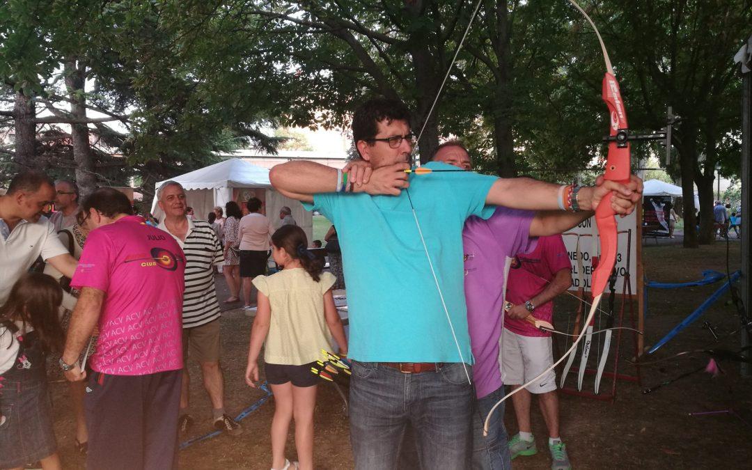 La Feria del Deporte se consolida como nuevo espacio de ocio deportivo en las Fiestas de la Virgen de San Lorenzo