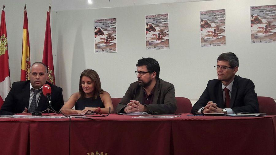 130 socorristas participarán en el Campeonato de España de Salvamento que tendrá lugar en Valladolid