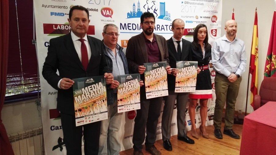 El centro de la ciudad acogerá la XXIX Media Maratón Ciudad de Valladolid