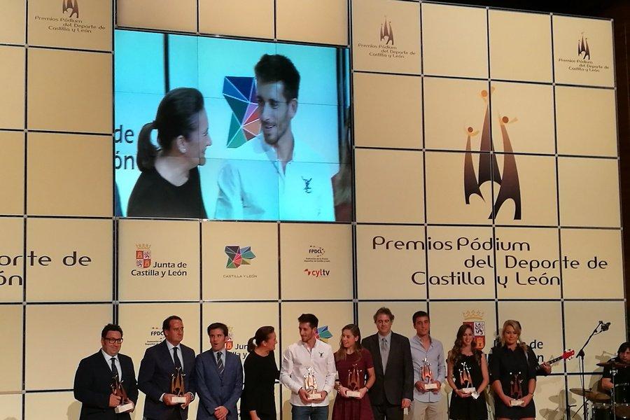Los mejores deportistas de Castilla y León se dan cita en la entrega de la V edición de los Premios Pódium