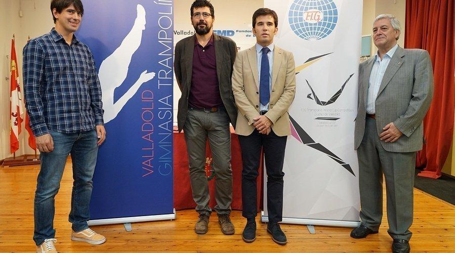 Tres oros olímpicos se darán cita en Valladolid del 6 al 8 de octubre en la Copa del Mundo de Trampolín