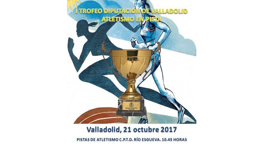 400 atletas de Castilla y León participan en el I Trofeo Diputación de Atletismo en Pista