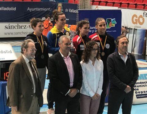 Dos bronces para el Club Vallisoletano de Esgrima en el Torneo Nacional de Ranking celebrado en Huerta el Rey