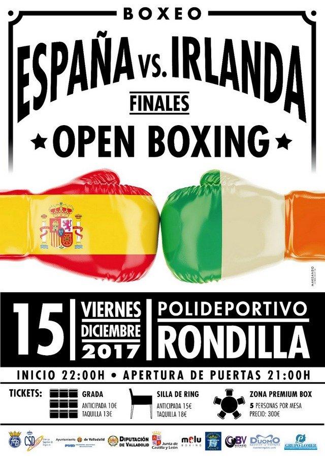 Open Boxing Finales España vs Irlanda