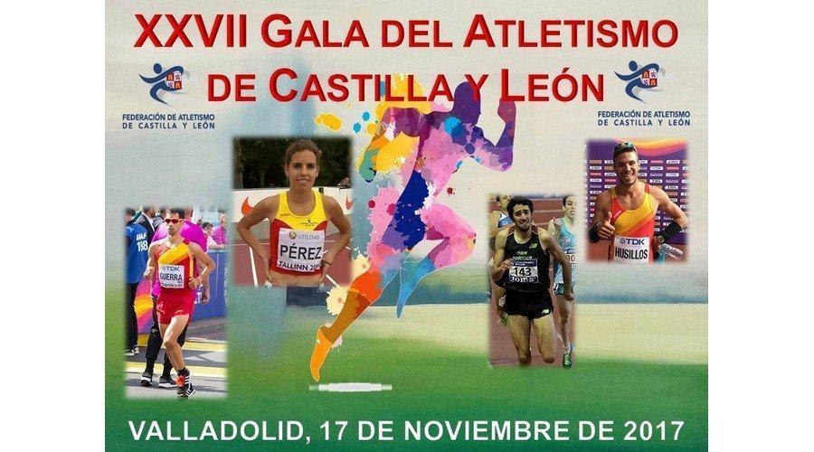 El atletismo se viste de fiesta para celebrar su XXVII Gala Regional, el viernes 17