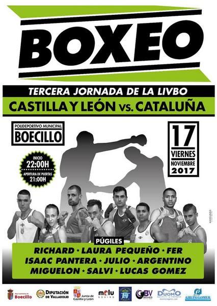 Velada de Boxeo. Castilla y León VS Cataluña