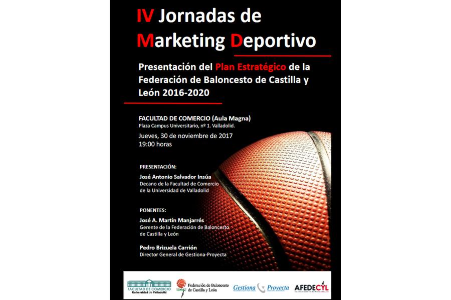 La Federación de Baloncesto de Castilla y León organiza las IV Jornadas de Marketing Deportivo